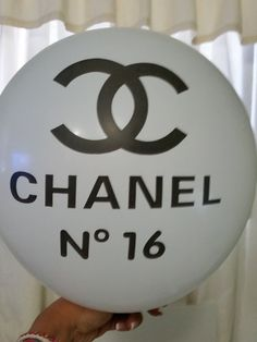 Chanel No 16 Inspiration Balloons white 12 inch by MaFersCreations, $2.50