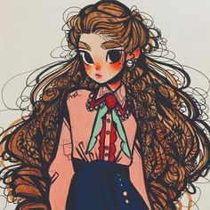 Likes, 89 Comments – Angel's Secret Art Service ( on Ins… – Beauty ideas Cute Art Styles, Cartoon Art Styles, Cartoon Design, Fantasy Character, Character Art, Cartoon Kunst, Dibujos Cute, Marker Art, Pen Art