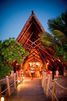 Beach Wedding and Reception in Fiji