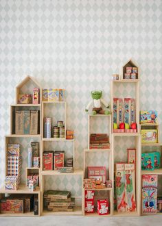 ;Toy room - this is it! So many toys... So little display  access  organization. No more hiding in boxes to be forgotten! It's time to play! That goes for books, too!!!