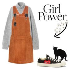 A fashion look from July 2017 featuring suede dresses, long sleeve sweater and converse trainers. Browse and shop related looks. Converse Trainers, Long Sleeve Sweater, Girl Power, Designers, Fashion Looks, My Style, Polyvore, Sweaters, Shopping