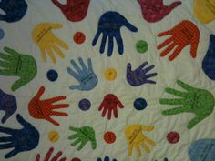 Mothers Day Contest: Handprint Quilt