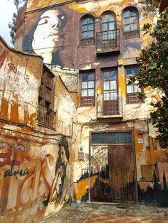 Graffiti in Granada: The Backstreet Art Gallery of Spain - Migrating Miss