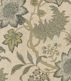 Waverly Jacobean Flair Multicolor Novelty Home Décor Fabric French Country Fabric, French Country Decorating, French Fabric, Drapery Fabric, Fabric Sofa, Buy Fabric, Printing On Fabric, Waverly Fabric, Country Interior Design