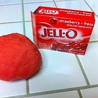 Explore the changing states of liquid to solid with Jell-O dough. | 19 Kitchen Science Experiments You Can Eat