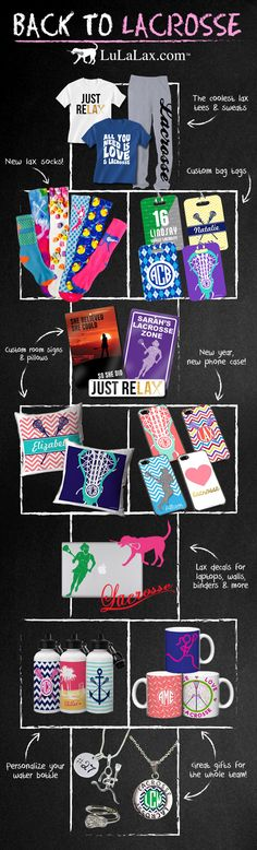 LuLaLax has got you covered for all of your back to school needs! Everything a lax girl could want! LuLaLax.com