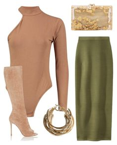 """""""Untitled #31"""" by brandieeetaylor on Polyvore featuring Jonathan Simkhai, Gianvito Rossi, Rosantica and Charlotte Olympia"""