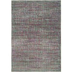 Safavieh Valencia Green/Red Rectangular Indoor Machine-Made Area Rug V