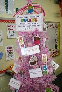 """Instead of """"helping hands"""" in the classroom, set up a classroom """"Wish Tree"""""""