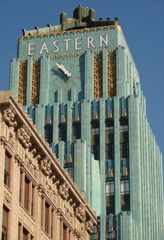 """Los Angeles::Eastern Columbia Building -         """"I Love L.A.""""!"""