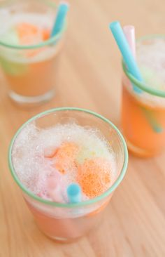 The Perfect Drink for Bridal and Baby Showers - Sherbet Punch.