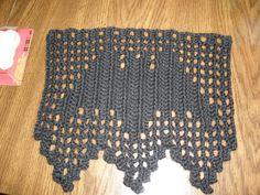 Vampire bat (filet crochet)