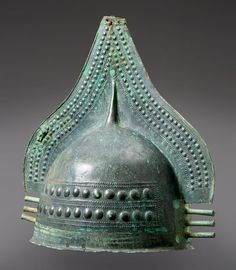Villanovan Crested Helmet, 1st Half of the 8th Century BC The Villanovan culture was the earliest Iron Age culture of central and northern Italy