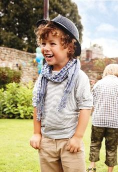 if i have kids someday, this is how i will dress them and my boys will definitely have crazy, long hair!