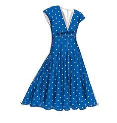 V9103, Misses' Dress