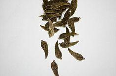 100 gr85 pcsWing pewter Alloy Pendant antique by sedonastonesllc, $3.20