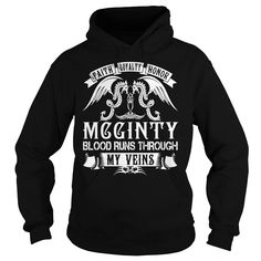 MCGINTY Blood - MCGINTY Last Name, Surname T-Shirt
