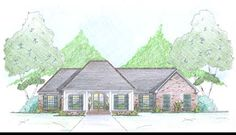 2000 Sq. Ft. House Plan [Rose Bay (20-092-400)] from Planhouse - Home Plans, House Plans, Floor Plans, Design Plans