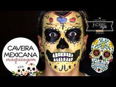 A fantasia de caveira mexicana tem feito o maior sucesso em bailes e festas e você não pode deixar de conhecer essa moda. Vem ver! Halloween 2018, Halloween Face Makeup, Fiestas, Fantasy, Tips, Mexican Meals, Mexican