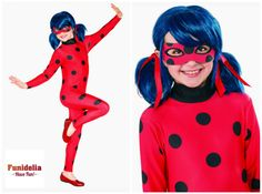 disfraz costume miraculous ladybug Miraculous Ladybug, Barbie, Pasta, Costumes, Holidays, Halloween, Rose, Ideas, Carnival