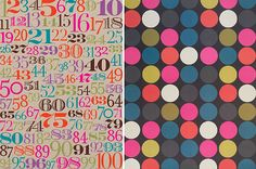 wrapping paper from Paper Source