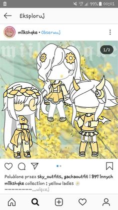 Outfits Source by ideas gacha Manga Clothes, Drawing Clothes, Cute Anime Character, Character Outfits, Kawaii Drawings, Cute Drawings, Club Outfits, Girl Outfits, Hijab Sport