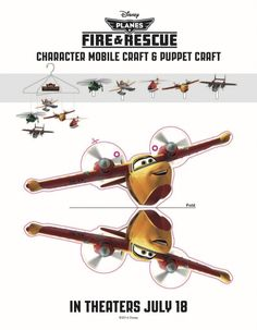 Planes Fire and Rescue Printables and Activity Sheets #Disney #Kids