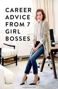 To continue my girl crush on Katherine Power --> Listen up, aspiring fearless leaders! Here's some valuable advice from 7 girl bosses
