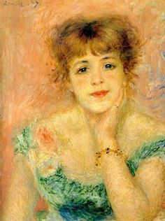 Pierre Auguste Renoir Jeanne Samary Aka La Reverie