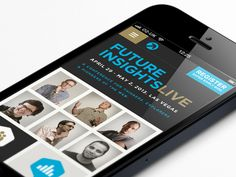 Simple and clean. Dope!...Future Insights on iphone by Mike Kus