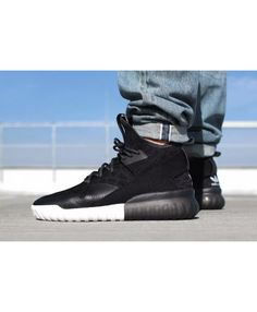 best service 1a405 29a96 Adidas Tubular Primeknit X Black Pack Trainers