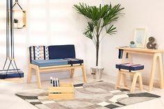 Que tal um sofá curinga pra brincar com a composição das almofadas?