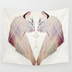 cat, kitten, animal, geometric...
