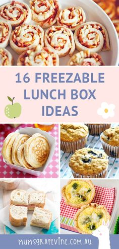 16 freezable lunch box ideas lots of healthy school lunch ideas you can freeze in advance healthyschoollunchideas kidsschoollunch schoollunchidea schoollunches easyschoollunchideas schoollunchrecipes lunchboxsnacks healthylunch School Lunch Recipes, Kids Lunch For School, Healthy School Lunches, Lunch Box Recipes, Lunch Snacks, Clean Eating Snacks, Baby Food Recipes, Gourmet Recipes, Lunch Ideas For Teens