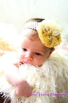 Original Design Terekes! For a Cute baby girl!! Unique piece! Hairband