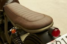Honda CB750 'Brownie' by Cafe Racer Dreams Leather Seat