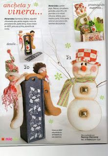 REVISTA PAÑO LENCY FIELTRO NAVIDAD 241 Maya, Christmas Stockings, Holiday Decor, Home Decor, Christmas Crafts, Art Journals, Holiday Ornaments, Needlepoint Christmas Stockings, Decoration Home