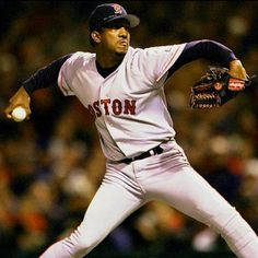 The best pitcher I've ever seen. GO BOSTON!!!!