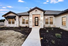 Plan 51795hz One Story Living 4 Bed Texas Style Ranch