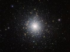 This bright cluster of stars is 47 Tucanae (NGC 104), shown here in an image taken by ESO's VISTA (Visible and Infrared Survey Telescope for Astronomy) from the Paranal Observatory in Chile.
