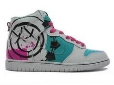 blink-182 nike shoes