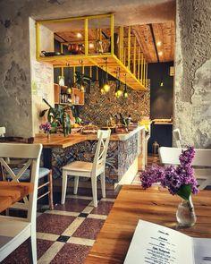 Romania Travel Inspiration - Cool design in Cluj-Napoca. Romania Travel, Unique Restaurants, Cozy Place, Travel Inspiration, Places To Go, Cool Designs, Aurora, Survival, Lounge