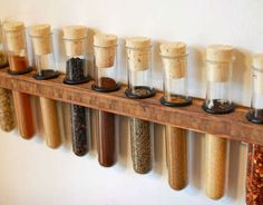 The Innovation Whiteboard - Interactive Feature - NYTimes.com | Spice Rack Test Tubes
