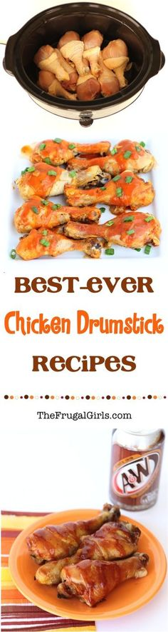 Best Ever Chicken Drumstick Recipes! ~ from TheFrugalGirls.com ~ you'll love these simple and delicious recipes for Drumsticks... perfect for Dinner or Sunday supper! #crockpot #thefrugalgirls