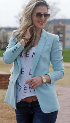 The Best Blazer Outfits Ideas For Women 18