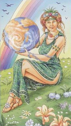 Gaia Universal Goddess Tarot The World Gaia, The World Tarot Card, Online Tarot, Tarot Major Arcana, Oracle Tarot, Tarot Card Decks, Tarot Readers, Aleister Crowley, Fantasy