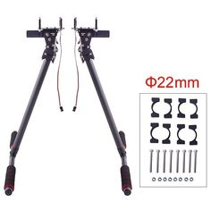 109.11$  Buy here - http://ali35q.worldwells.pw/go.php?t=32385855791 - Retractable Landing Gear Carbon Fiber kits for DJI S800/S800 EVO RC Drone Multicopter 109.11$