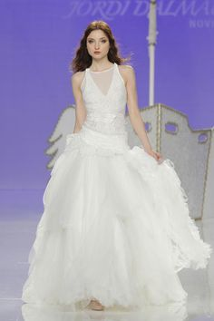 "Jordi Dalmau la nota especial en ""Barcelona Bridal Fashion Week"".2017"