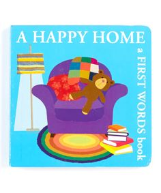 Look what I found on #zulily! Happy Home: A First 100 Words Board Book #zulilyfinds