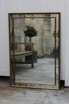 Any size can be made to order with or without vintage mirror fitted. £850.00 per sq. metre       Mirror shown: 700 x 110cms, £654.00 inc vat. Hidden Tv, Traditional Mirrors, Somerset, Home Bedroom, Bespoke, Oversized Mirror, Palette, Bath, Living Room